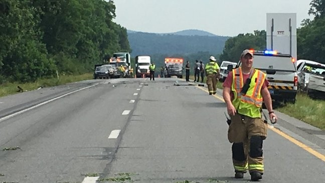 UPDATE: Route 222 reopens after deadly crash | WHP