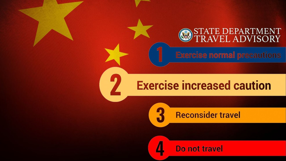 China says US travel advisory 'cannot stand up to scrutiny' | WHP