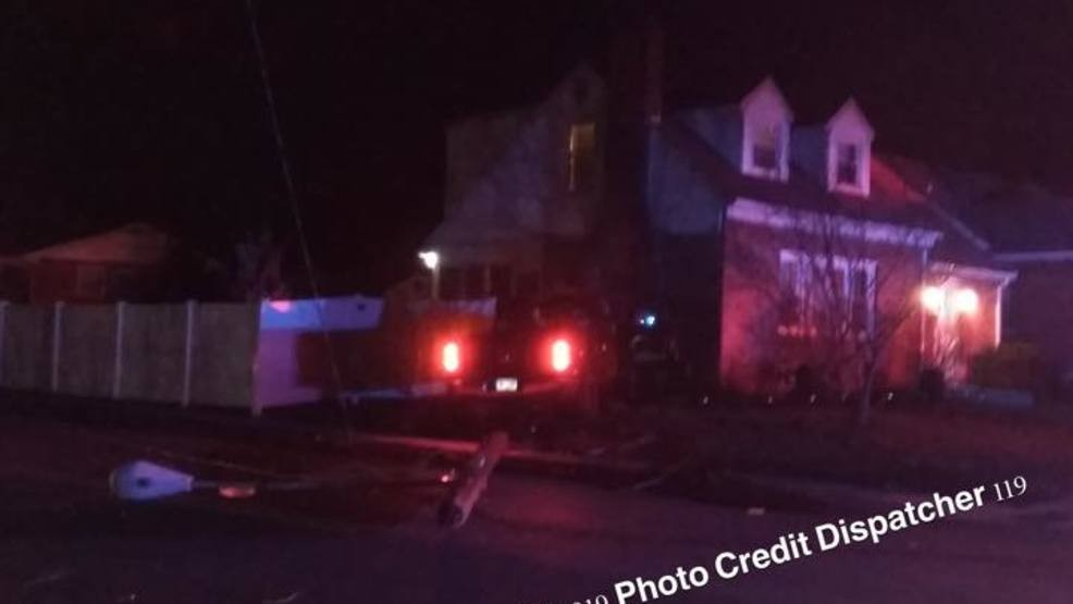 Pickup truck crashes into home over night in York | WHP
