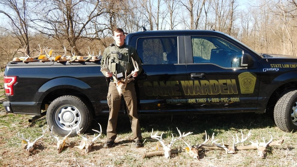 Game Wardens Charge York County Man After Finding Rack