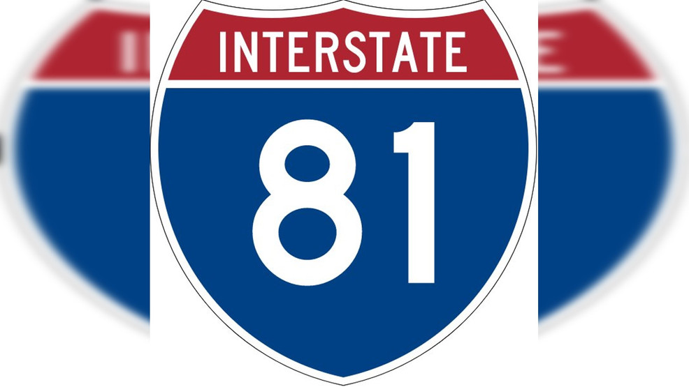 Traffic slow on I-81 SB after tractor trailer overturns near